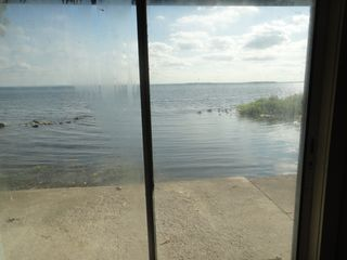 Oneida Lake house photo - view from lower bedroom