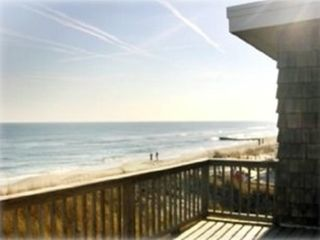 Fabulous view to the south from 2nd floor deck! - Brant Beach house vacation rental photo