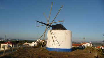 Traditional windmill Serra da Pescaria