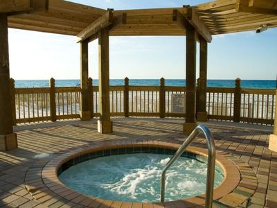 Relax in the Pelican Beach Resort spa by the ocean!