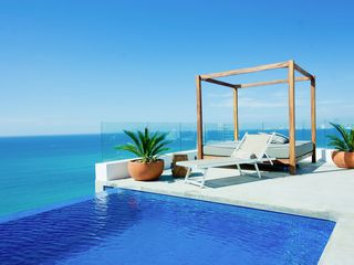 Puerto Vallarta condo photo - Right side view ft infinity pool
