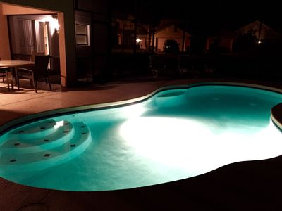 Large Family Friendly 4 bdrm, 10min. from Disney, Private Pool, Wifi, Sleeps 8+