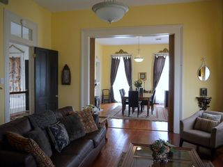 New Orleans apartment photo - Living room & dining room