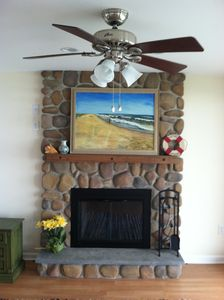 Fireplace - Old Saybrook house vacation rental photo