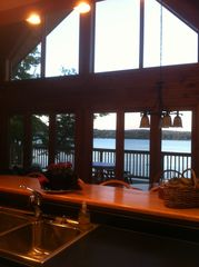 Lake Salem house photo - View of Lake Salem from Kitchen over Kitchen Counter