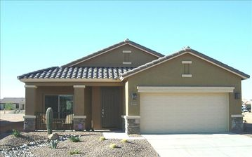 Casa Grande house rental - Property faces North.
