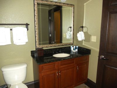 3rd and 4th bathrooms are alike. Bathroom has second vanity plus walk in shower