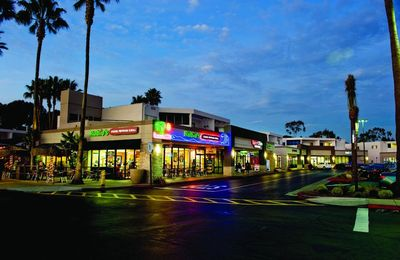 The Shops at La Jolla Village is just a few blocks away