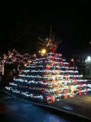 Provincetown condo photo - P-town's famous lobster trap Christmas tree!