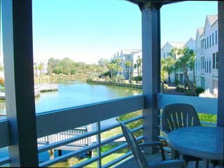 Seabrook Island villa photo - Spacious patio off Living Room for Dining or relaxing.