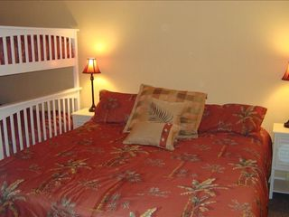 Redington Shores condo photo - 'Palm Trees' King Bed