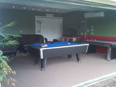 Game Room-PS2, Brand new Pool Table and Air Hockey Table, Darts and More!