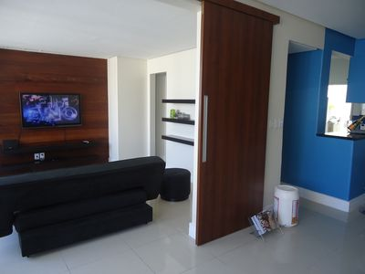 Large and comfortable apartment (130 m2) in Barra, near the Beach and Shopping