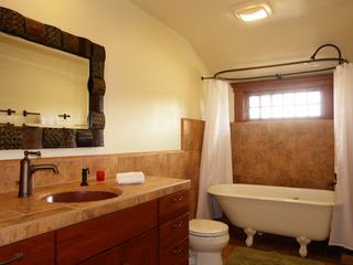 Pacific Grove house photo - One of 2 guest bathrooms.