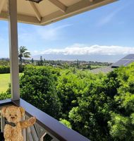 The views from this wonderful 3 bedroom Maui home are spectacular!