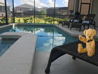 Relax and enjoy your private pool at Sunshine House.