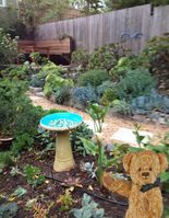 Close to the Metro and check out this amazing garden just outside your door.