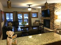 Ski in and ski out of this beautifully furnished Breckenridge townhouse.