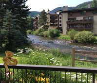 You will enjoy the view and convenient location of this Vail retreat!