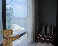 Enjoy the beauty of Biscayne Bay right from your luxurious condo!