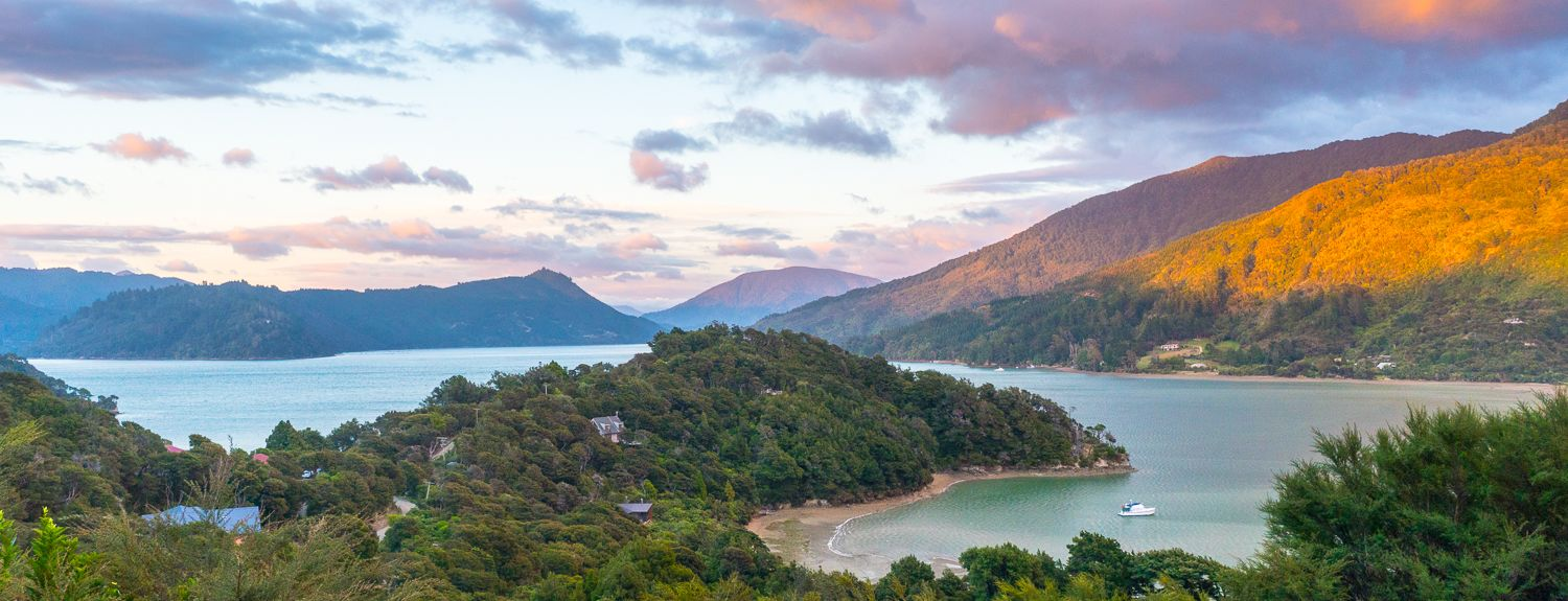 Nydia Bay, Marlborough, New Zealand