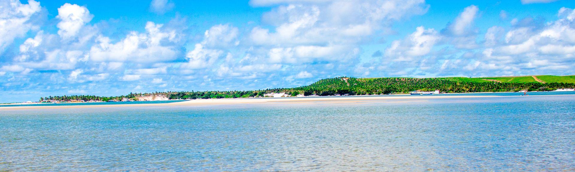 Plaża Carvalho, Barra de São Miguel, Alagoas, BR