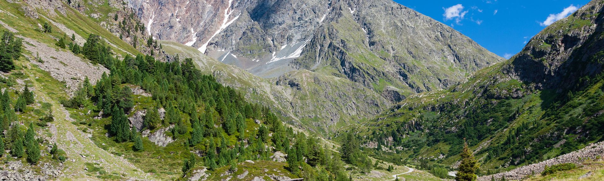 Ötztal, Längenfeld, Tyrolen, Österrike