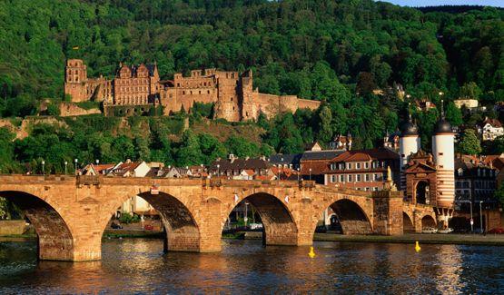 Heidelberg, Baden Wurttemberg, Tyskland