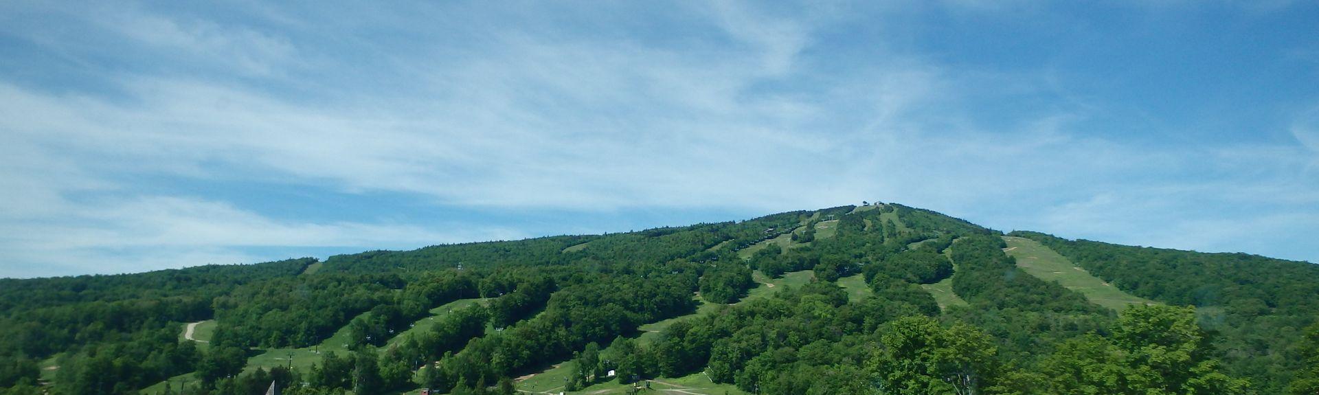 Parc d'État de Fort Dummer, Brattleboro, Vermont, États-Unis d'Amérique