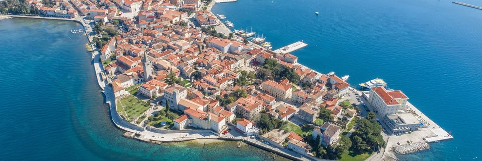 Keskusta, Poreč, Istria, Kroatia