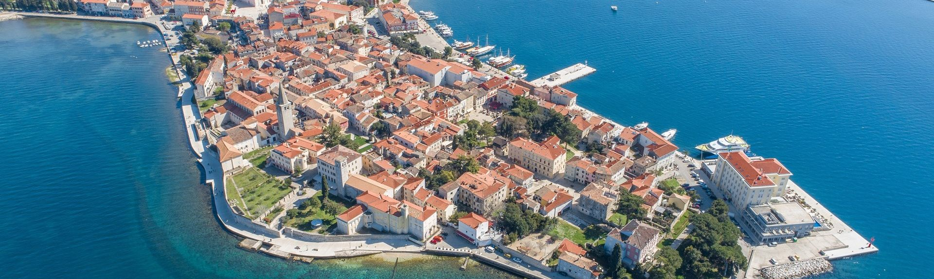 City Center, Porec, Istria (county), Croatia