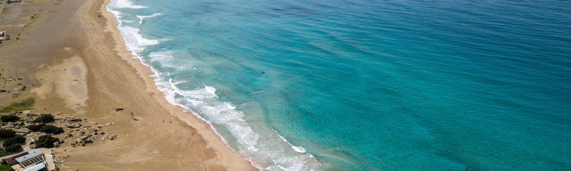 Elafonissi Beach, Kissamos, Crete, Greece