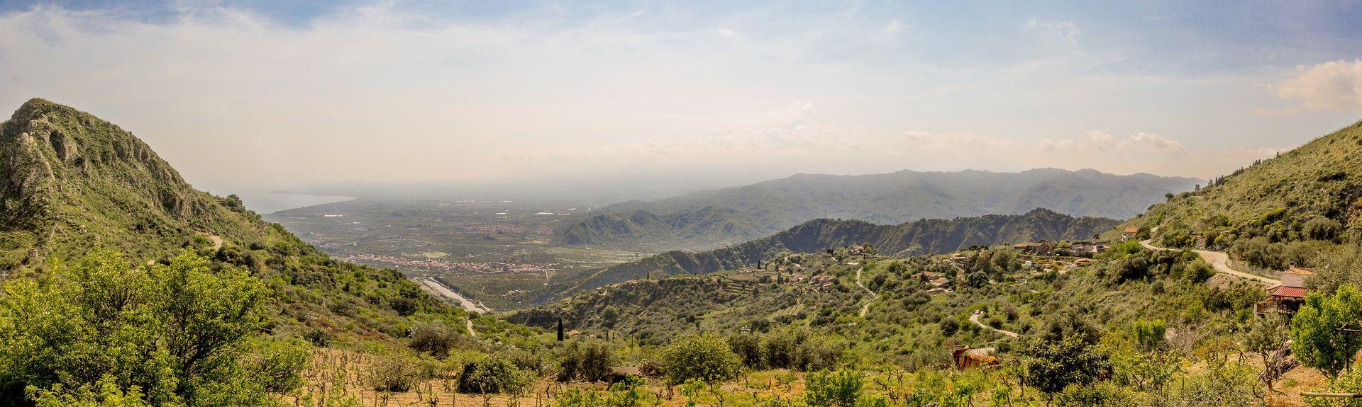 Santa Teresa Di Riva, Σικελία, Ιταλία