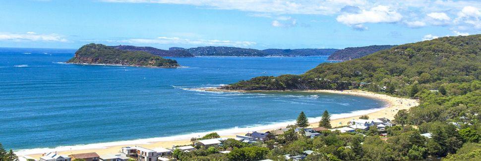 Clareville Beach, Pittwater, Nova Gales do Sul, Austrália