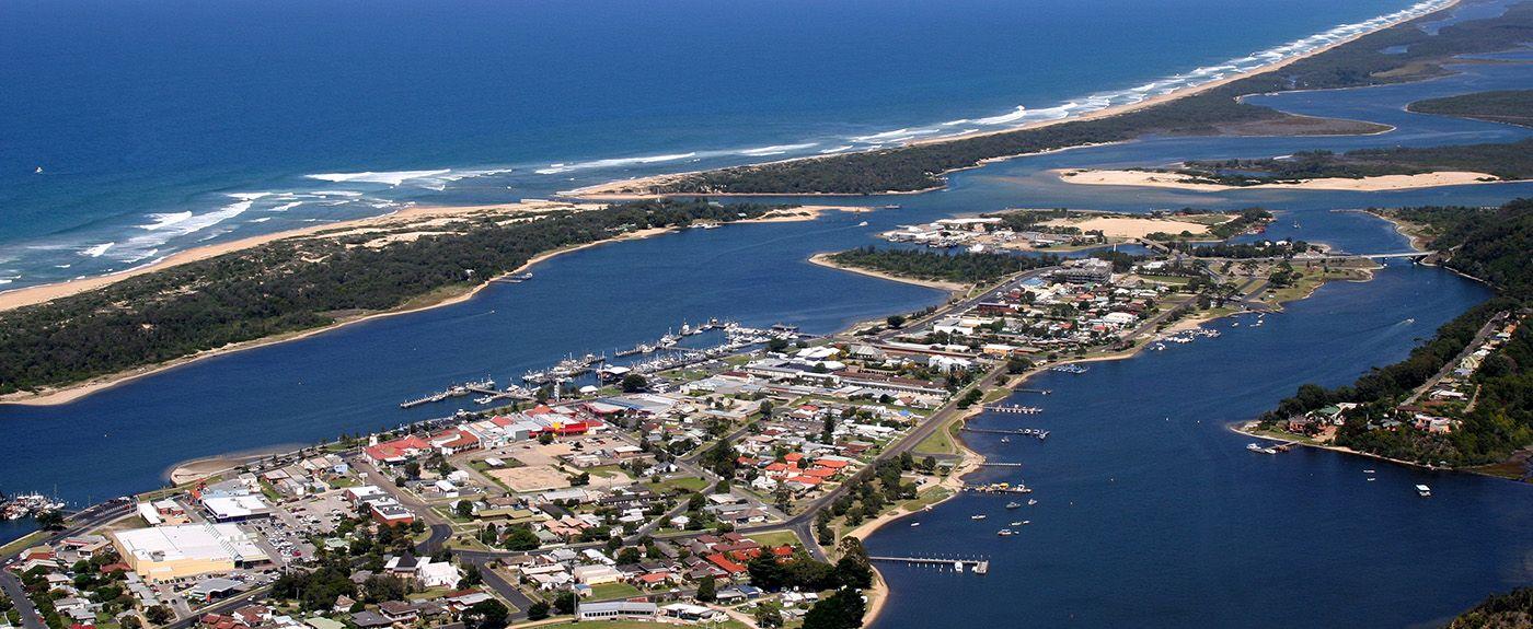 Lakes Entrance Lookout, Kalimna, Victoria, AU