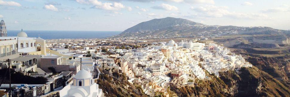 Φηρά, Νησιά του Αιγαίου, Ελλάδα
