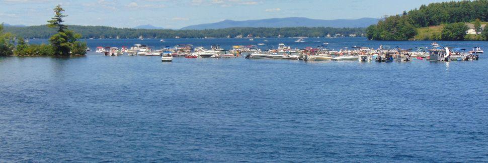 Merrymeeting Lake, New Durham, New Hampshire, Verenigde Staten