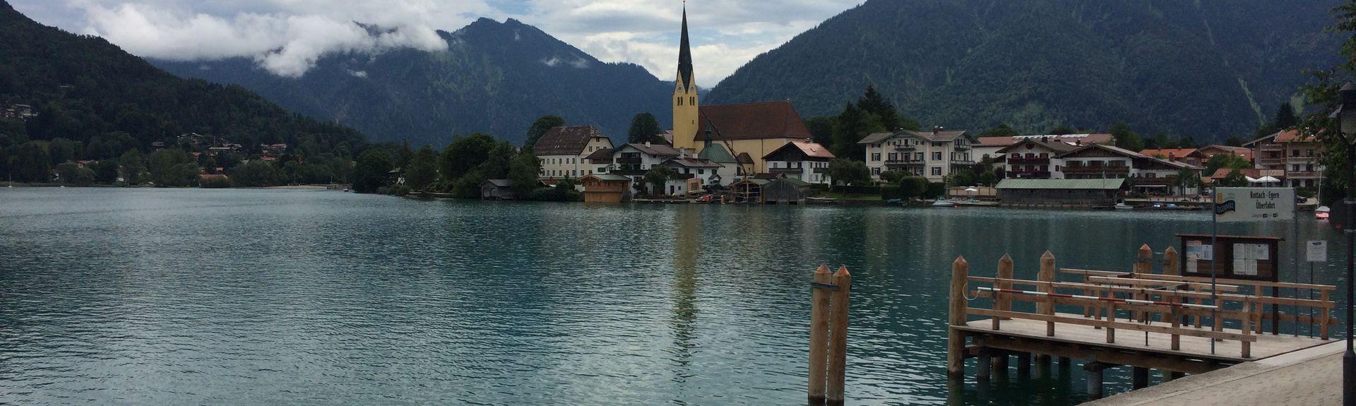 Ramsau, Bad Heilbrunn, Beieren, Duitsland