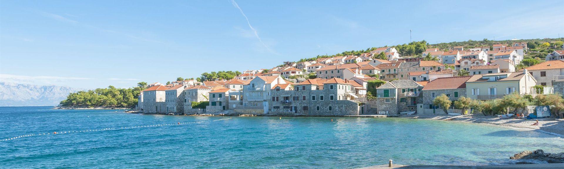 Milna, Split-Dalmatie, Croatie