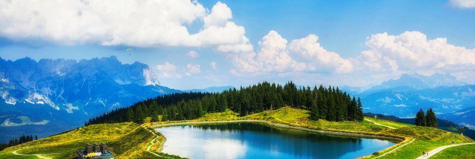Scheffau am Wilden Kaiser, Tirol, Oostenrijk