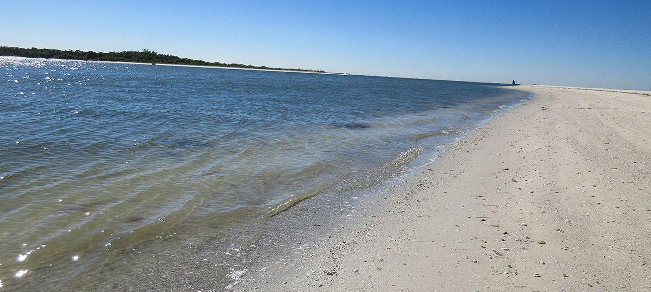 Castle Beach, Fort Myers Beach, FL, USA