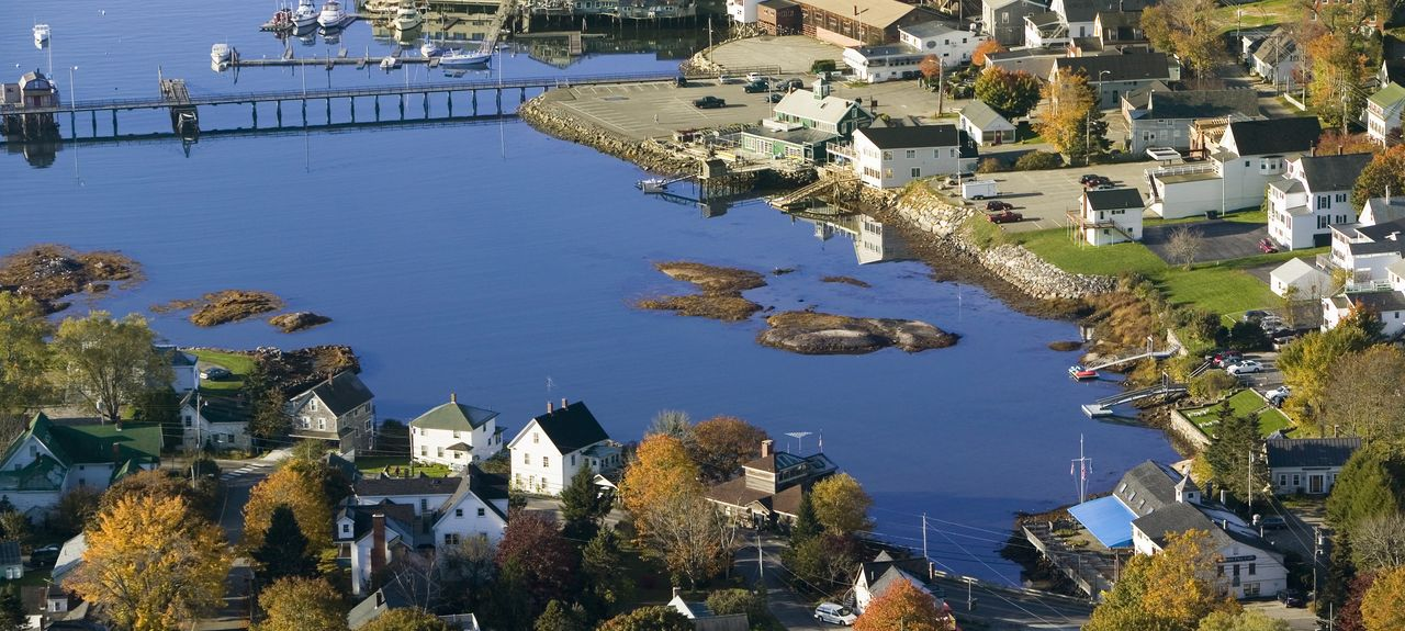 Boothbay Harbor Region, ME, USA