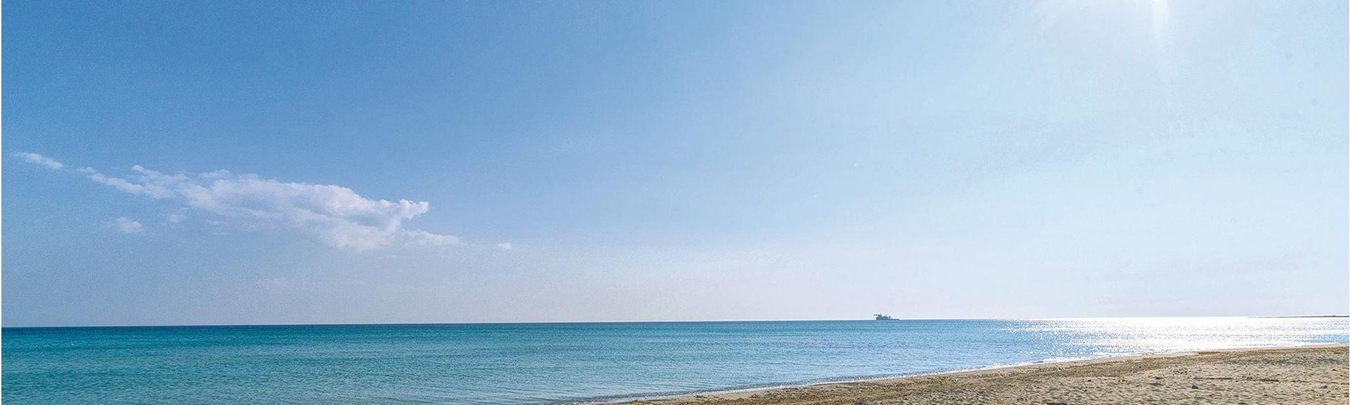 Playa de Caldura, Cefalú, Sicilia, Italia
