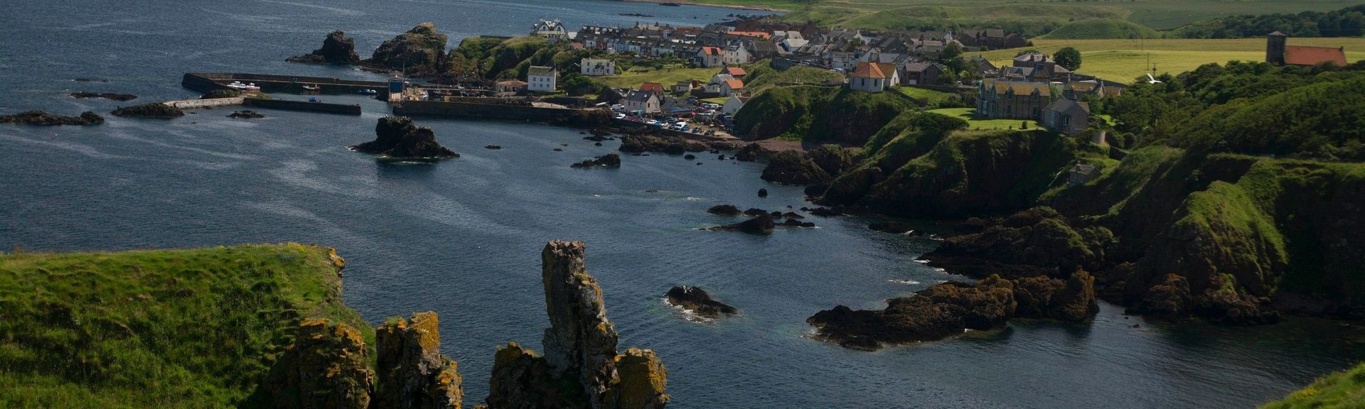 Coldingham, Eyemouth, Scottish Borders, UK