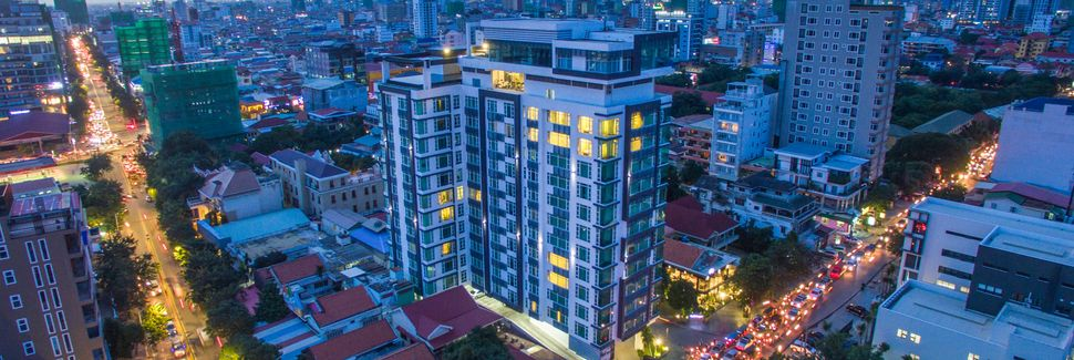 Centre commercial Sovanna, Phnom Penh, Cambodge