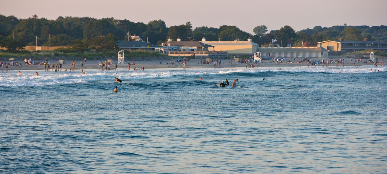 Narragansett Beach, Narragansett, RI, USA