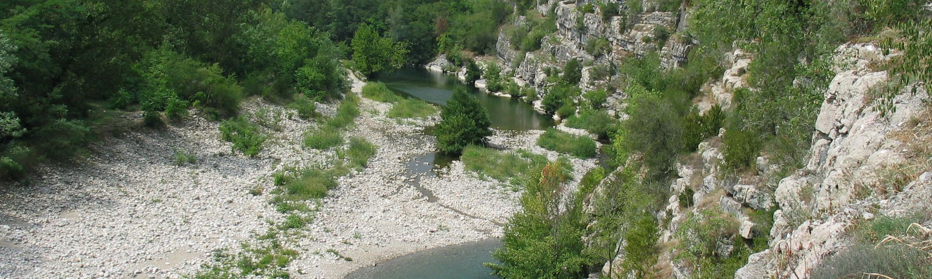 Grospierres, Ardeche (department), France