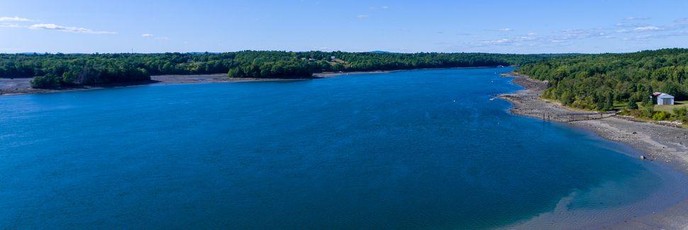 Camden Hills State Park, Camden, Maine, États-Unis d'Amérique