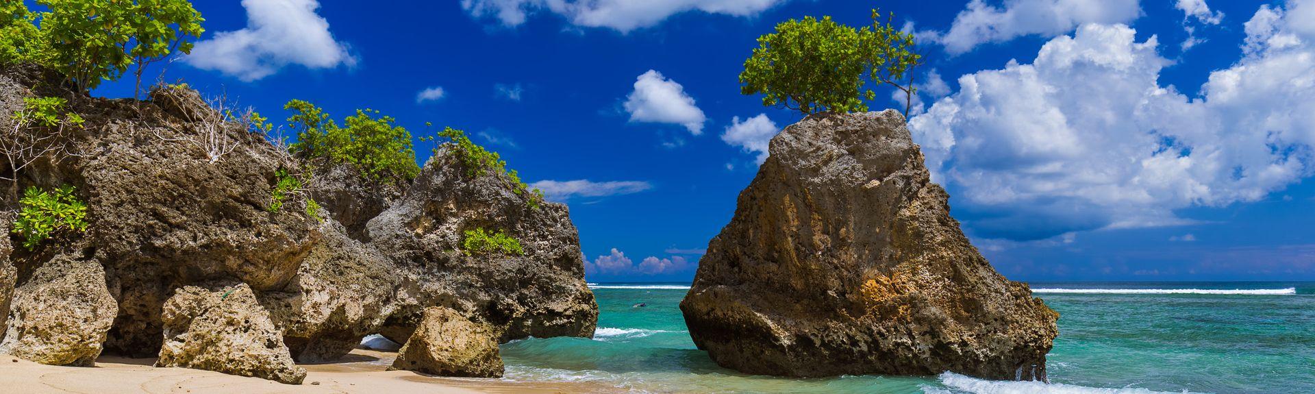 Spiaggia di Bingin, Bali, Indonesia