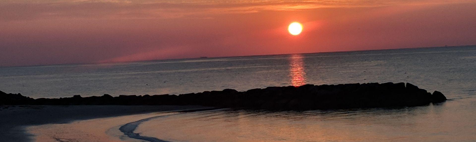 Buckroe Beach, Hampton, Virginia, USA